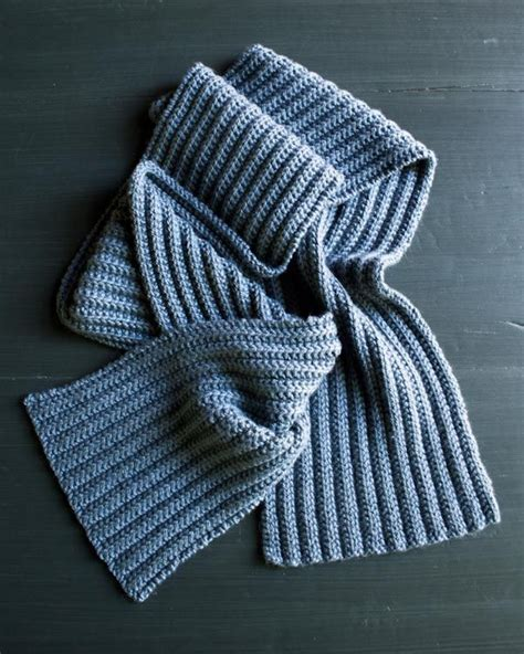ribbed knitted scarf pattern free no purl rib pattern great idea for neice to try add some