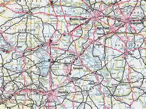 carolina interstate map interstate guide interstate 85