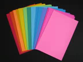colored card stock paper card stock tag paper light weight paper bright colors 96