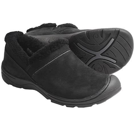 keen crested butte shoes nubuck slip ons for