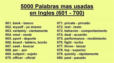 100 palabras que empiecen con r newhairstylesformen2014com 5000 palabras mas usadas en ingles 601 700 youtube