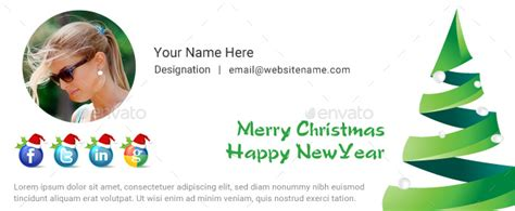 christmas email signature psd by dotgains graphicriver