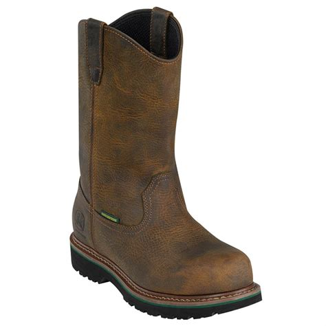 boots for mens waterproof s deere 10 quot waterproof wellington boots