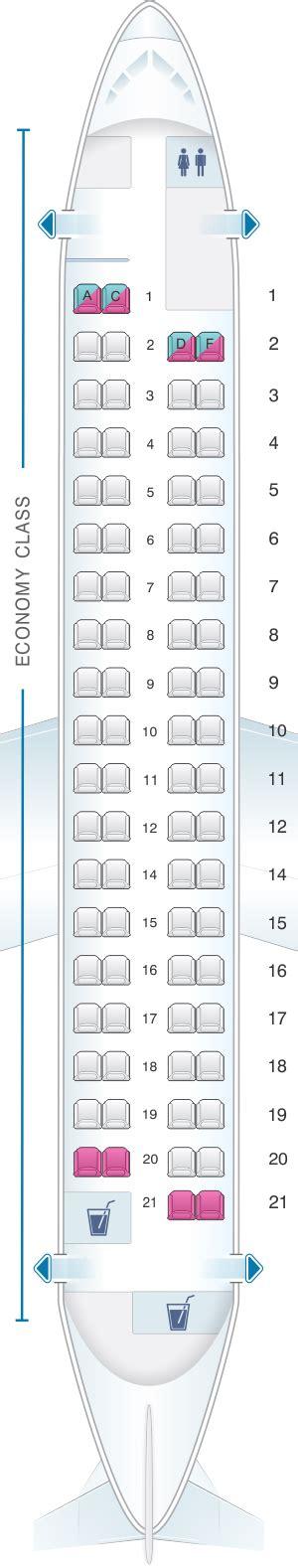 dash 8 400 seating seat map croatia airlines dash8 q400 seatmaestro