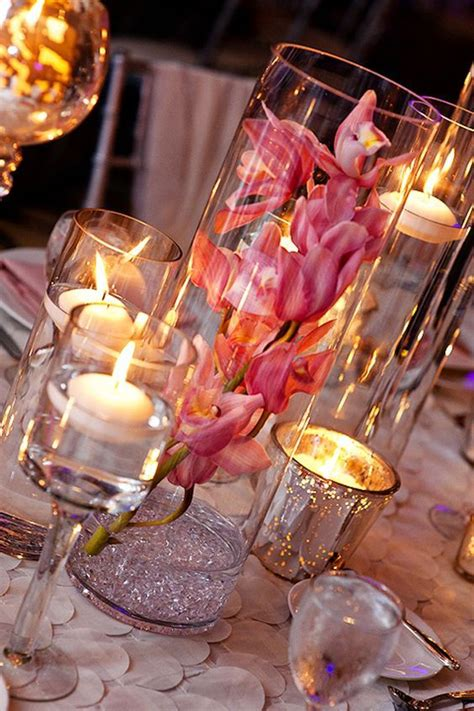 glass cylinder wedding centerpiece ideas page