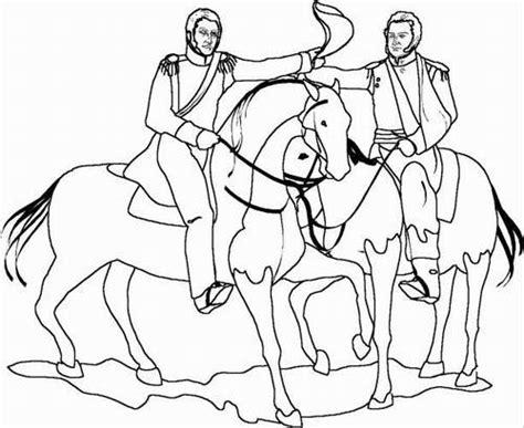 dibujos colorear 24 de junio batalla de carabobo dibujos para colorear del 24 de junio batalla de carabobo