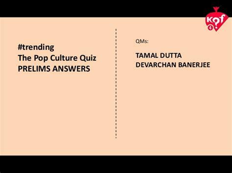 pop culture 2015 trivia kqf 2015 pop culture quiz