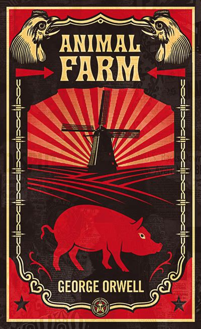 biography of george orwell author of animal farm course syllabus introduction to allegory