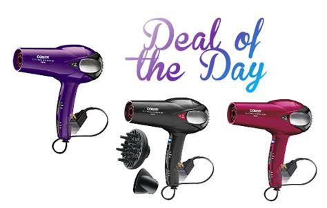 Conair Hair Dryer Coupons deal of the day conair 1875 watt cord keeper hair dryer