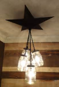 primitive country chandeliers details about jar chandelier barn country