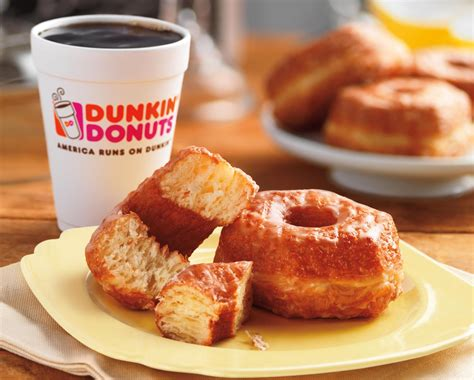 dunkin donuts light menu dunkin donuts makes croissant donut permanent