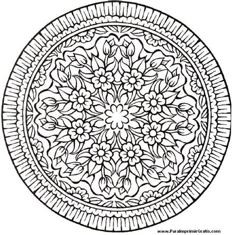 flor mandala para imprimirflor mandala mandalas de flores para imprimir gratis