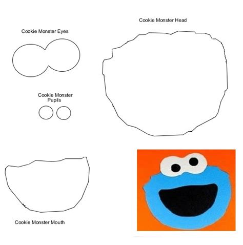 cookie monster svg all for my