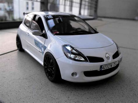 Renault Clio 3 by Renault Clio 3 Rs Miniature Voiture Miniature
