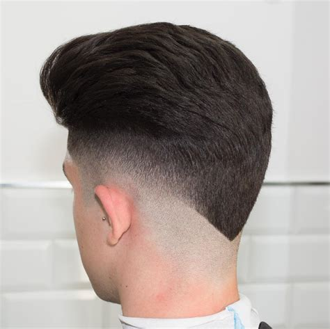 pictures of neckline hair cuts undercut v shape men