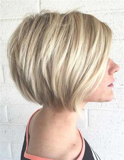 layered stack bob 15 stacked bob haircuts short hairstyles 2017 2018