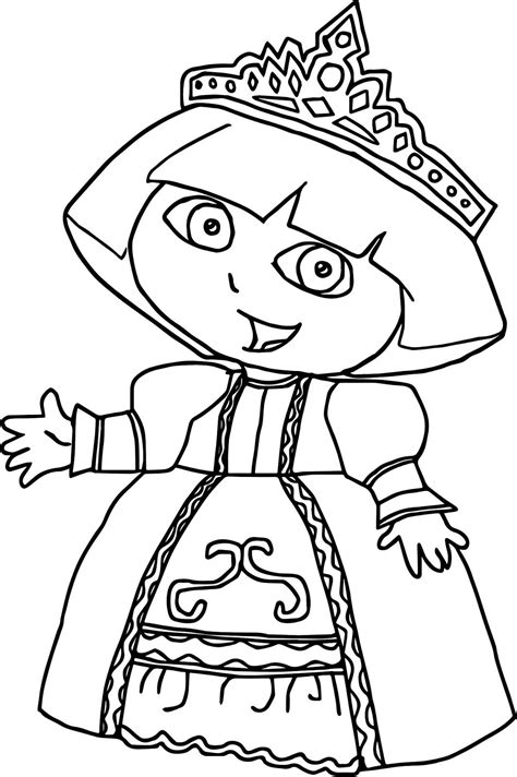 dora the explorer 2 coloring pages coloring home