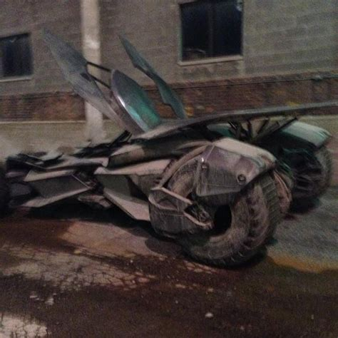 Batmobile Batman V Superman image batmobile from batman v superman of justice image via instagram user amacro13