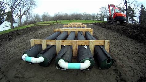 presby septic installation youtube