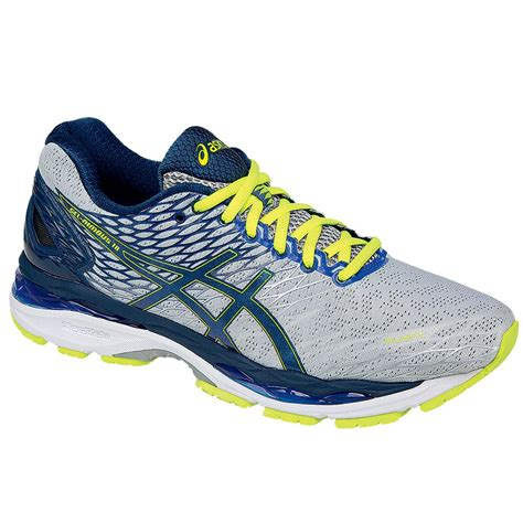 mens asics running shoes on sale asics gel nimbus 18 running shoe s glenn