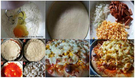 membuat pizza lipat gangnya membuat pizza sosis jagung praktis ekonomis