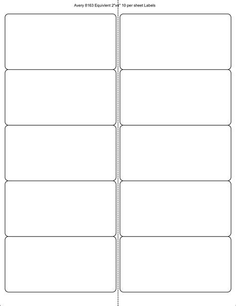 Avery Stickers Templates 8 Best Images Of Free Printable Label
