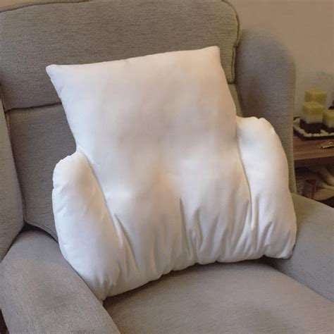 Back Cushions Replacement by Replacement Cover For Velour Fleece Lumbar Support Cushion