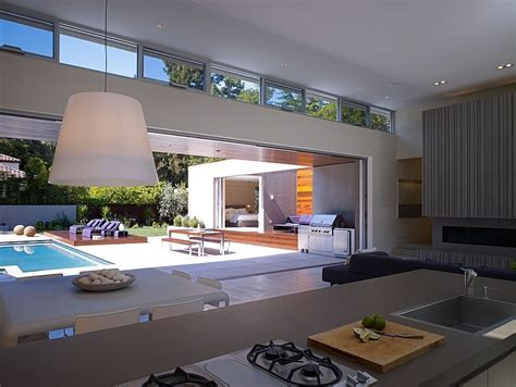 U Home Interior Modern U Shaped Residence Built Around A Central Leisure