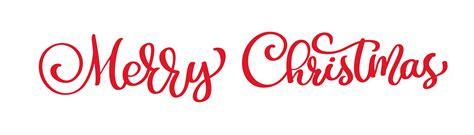 text merry christmas hand written calligraphy lettering handmade vector illustration fun brush