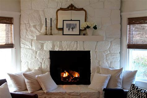 painted fireplace paint colors fireplaces and paint
