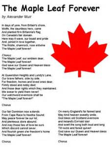 song the maple leaf forever