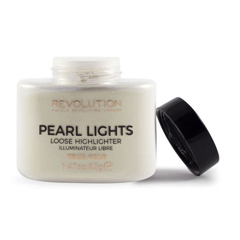 illuminante in polvere makeup revolution illuminante in polvere pearl lights
