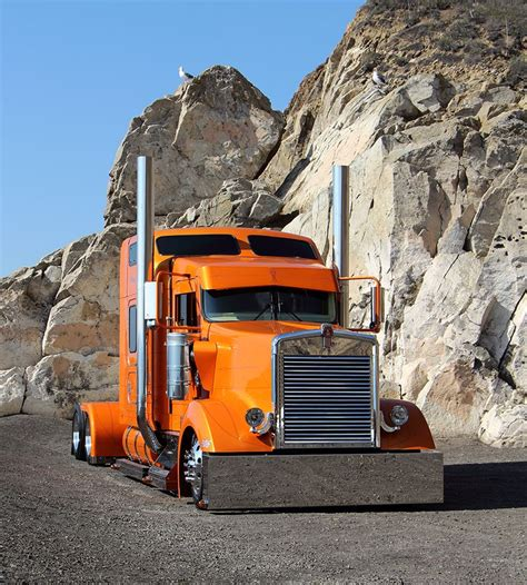 big kenworth trucks kenworth w900l rollin r enterprises quot backyard build