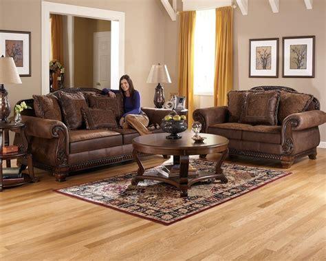 truffle traditional sofa set  world couch wood trim cozy fabric living room ebay