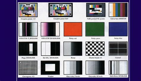 Test Pattern Software | television test pattern generator electronics repair and