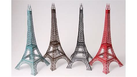 eiffel tower model template laser cut eiffel tower gizmodo uk