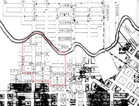 houston district j map bayou city history houston a different sort of