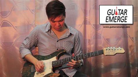 guitar tutorial in jesus name guitar emerge darlene zschech in jesus name electric