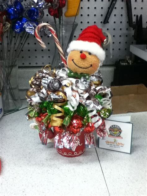 how to do a christmas candy sunday centerpiece gingerbread bouquet sundae sweet ideas bouquets bouquet