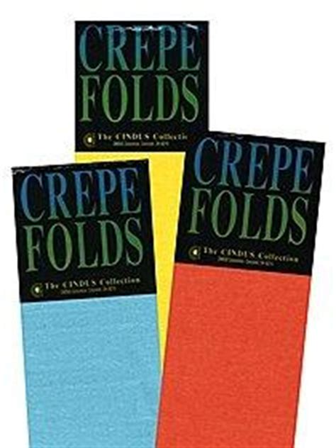 Crepe Paper Folds - top 10 suppliers for craft paper and crepe paper supplies