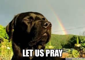 Praying Memes - let us pray