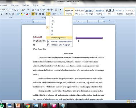 jbs literature class proper journal  essay format