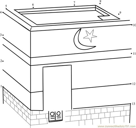 printable pictures kaaba free kaaba coloring pages