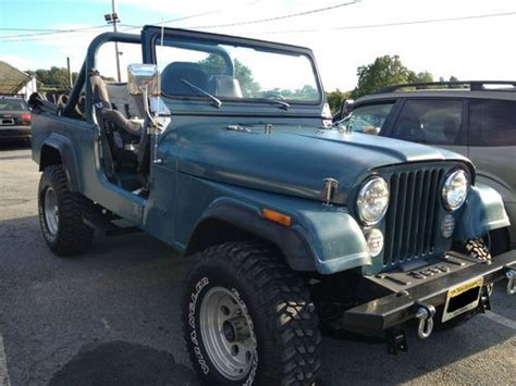 Jeep 8 Seater Purchase Used Jeep Cj 8 Scrambler 1983 Six Seater With