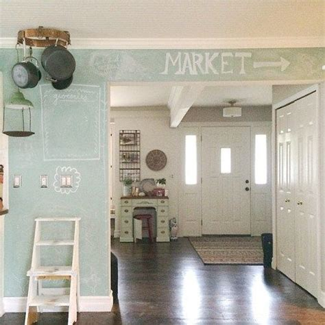 chalkboard paint kitchen ideas 25 best ideas about kitchen chalkboard walls on