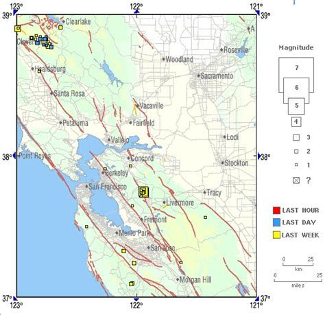 san jose fault line map los angeles needs to be aware