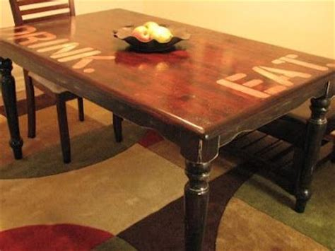 refinish kitchen table top what s in a table gentlemint