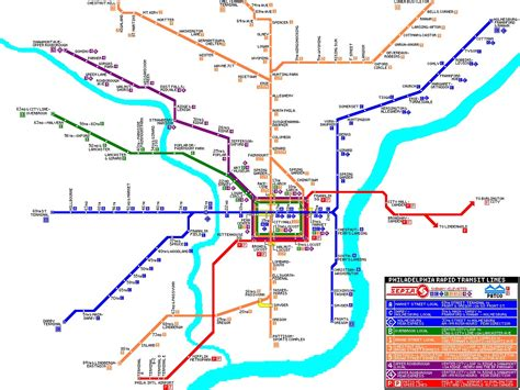 Subway Map Philadelphia by Subway Map Philly Related Keywords Amp Suggestions Subway