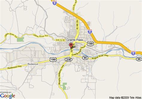 the map grants pass oregon map of riverside inn resort grants pass