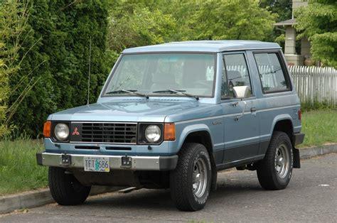 mitsubishi 2 door car 1983 mitsubishi montero 2 door mydreamride suv